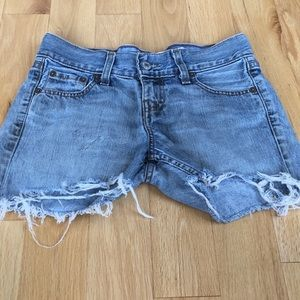 Levi's Jean distressed Cut Off Shorts